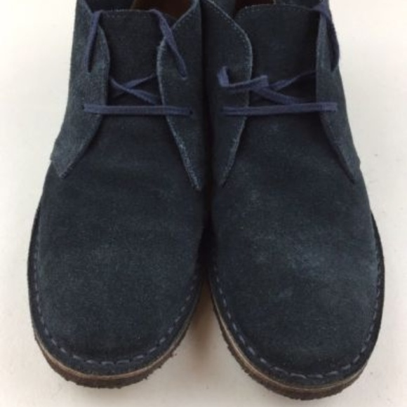 494f70f0b7e J CREW Men's 10 Suede MCALLISTER Chukka Boots EUC